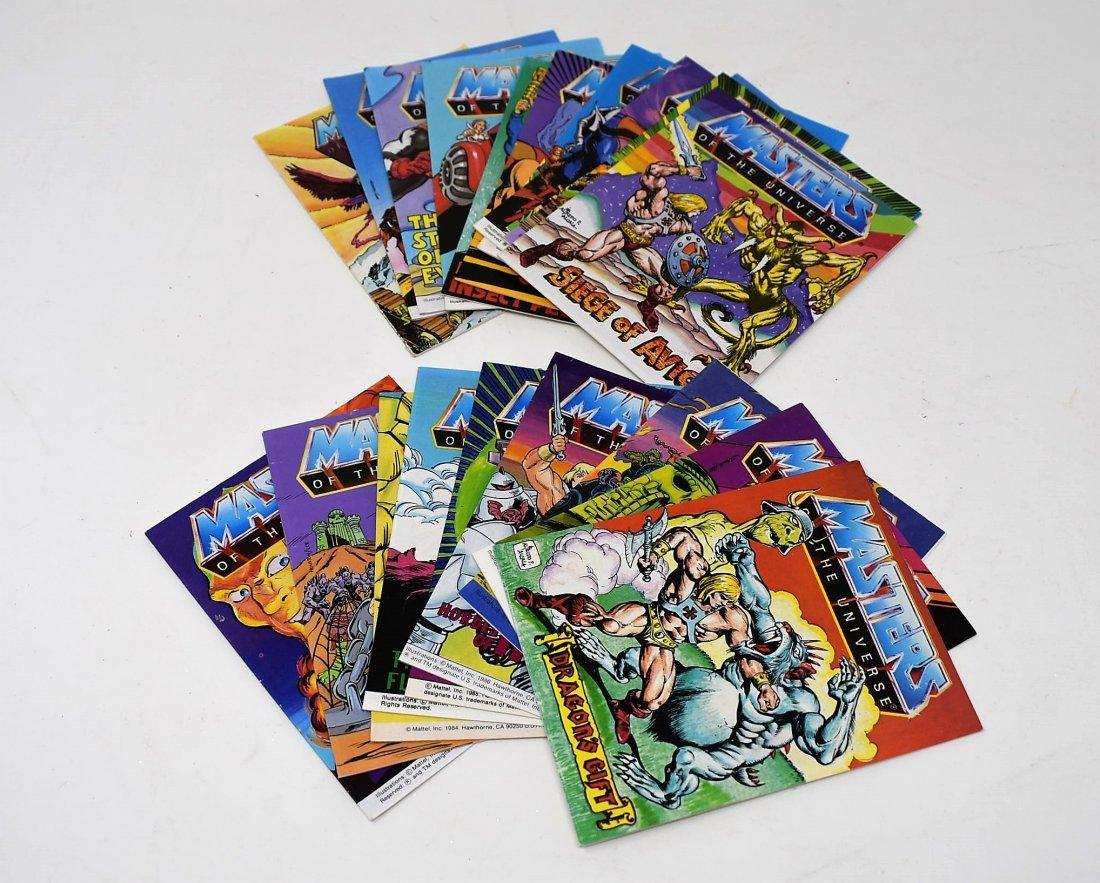 Masters of the Universe Heman Lot o 20 Mini Comic Books
