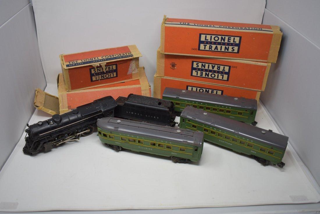 Vintage Lionel Passenger Car Train Set