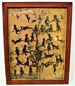 1908 Black Americana Print  Blackbirds