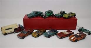 Group of 11 Hot Wheels Redline Cars