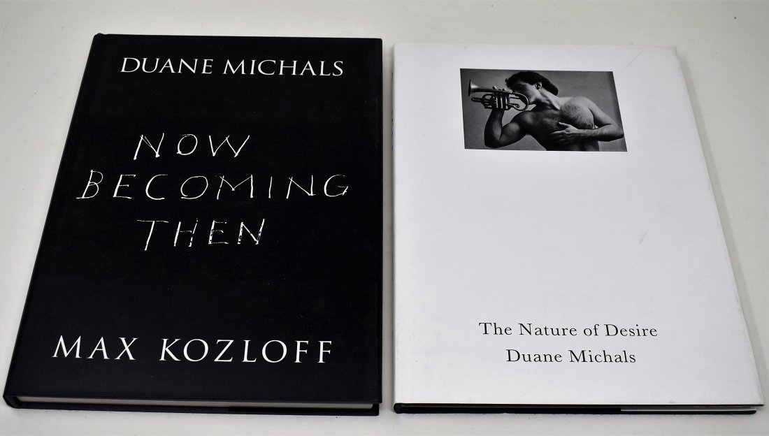 2 Duane Michals Photography Books Now Becoming Then +1