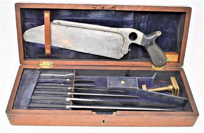 Early Field Amputation Kit mid-late 1800's