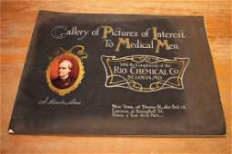 Antique Rio Chemical Advertising Book of Pictures