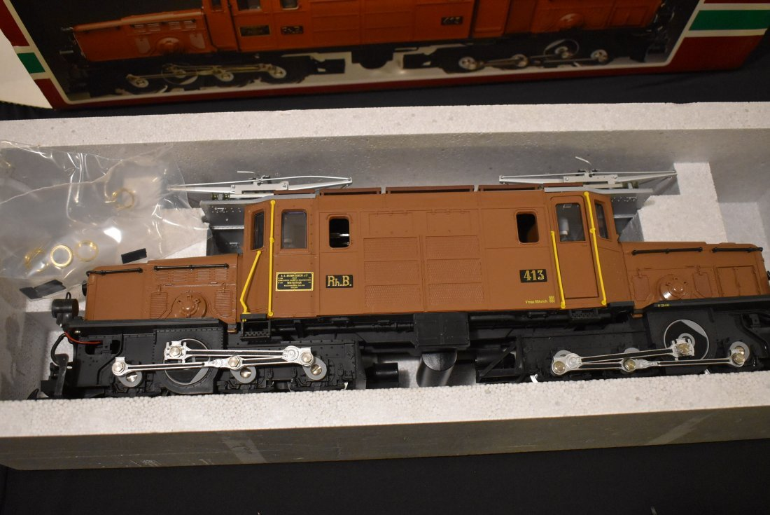 LGB G Scale 2040 Electric Crocodile Locomotive NEW