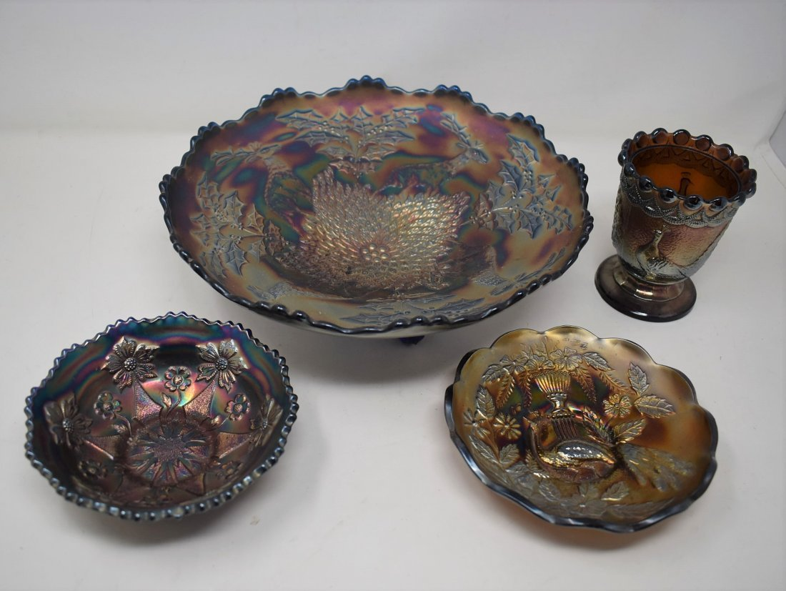 Group of Vintage Carnival Glass Fenton