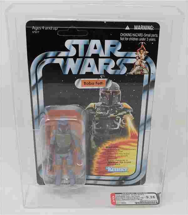 2010 Hasbro Star Wars Rocket-Firing Boba Fett AFA 9.25