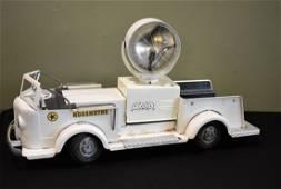 Doepke Rossmoyne White Searchlight Fire Truck