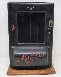 1 Cent Match Machine Chicago Saftey Match co.