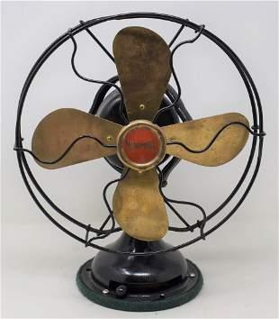 Menominee Brass Blade Fan