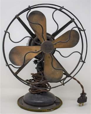 Robinson & Meyers R&M Brass Blade Fan