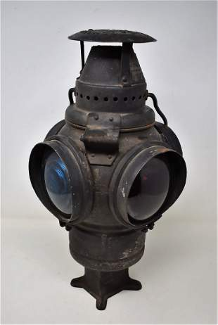 Vintage Adlake Railroad Lantern