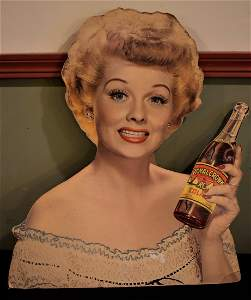 Vintage Lucille Ball Lucy Royal Crown Cola Advertising