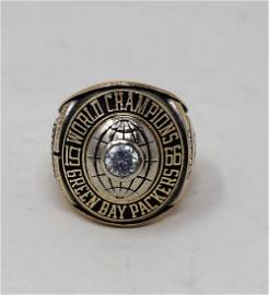 1966 Bart Starr Super Bowl 1 Salesman Sample Ring