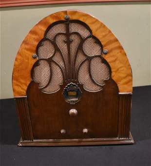 Vintage Philco Model 20 Tube Radio Working