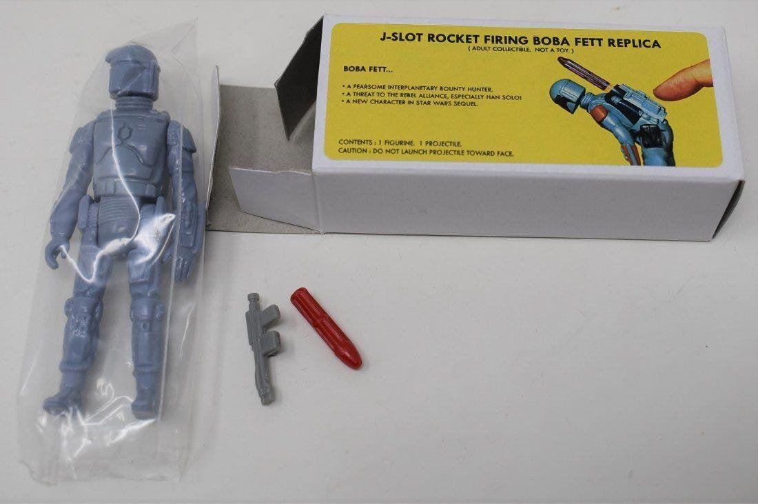 Custom Star Wars J Slot Rocket Firing Boba Fett Fantasy