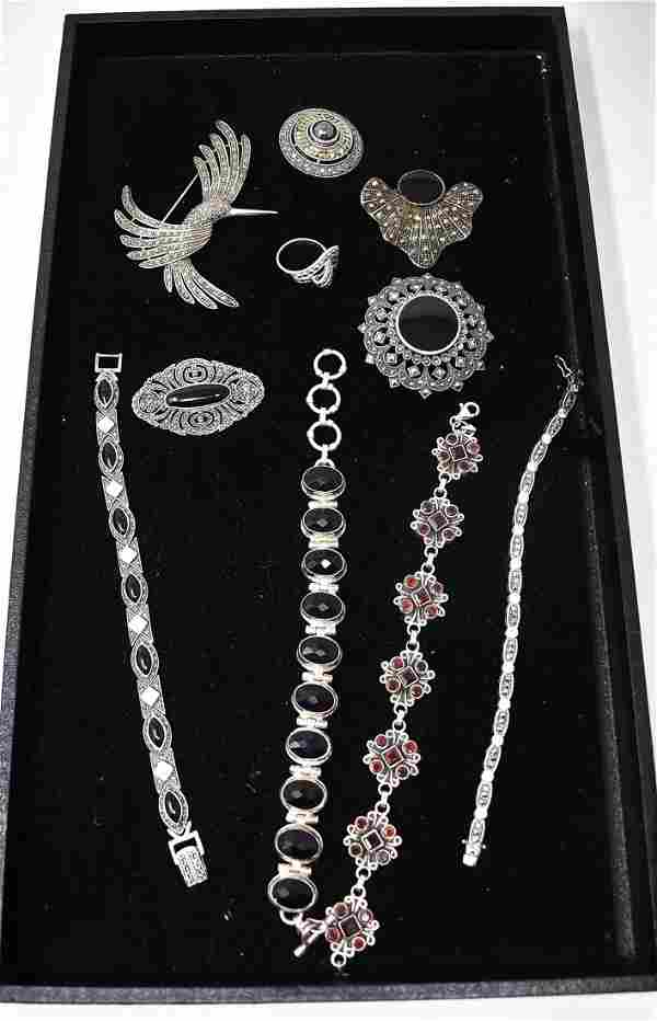 Lot of GORGEOUS Sterling Silver Jewelry