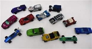 Lot of 11 Vintage Hot Wheels Red Line Die Cast Cars