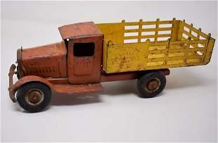 Vintage Metalcraft Shell Motor Oil Truck