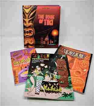 Lot of 4 Tiki Books Taschen