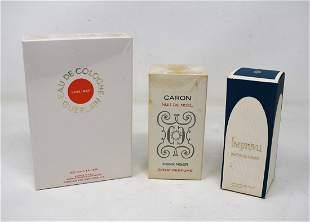 Lot of 3 Vintage Perfumes