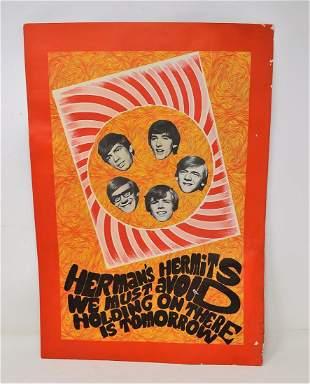 Vintage Herman's Hermits Poster