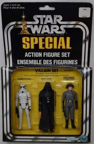1978 Star Wars 3-Pack Series 1 Duel Language Villain