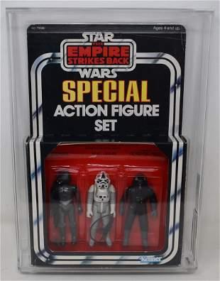 1982 Star Wars 3-Pack Series 3 ESB Imperial Set AFA 80