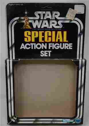 1977 Star Wars Special 3 Action Figure Set Empty Box