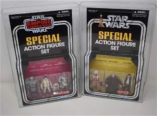 2 Star Wars Graded AFA 9 & 9.25 Target 3 Packs Sets