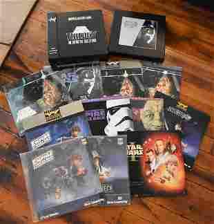 Large Lot of Star Wars Laser Discs Box Sets, etc