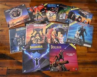 "Lot of Full Moon ""B"" Movie Laser Discs"