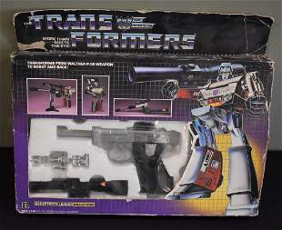 Transformers Megatron G1 1984 Decepticon Leader Complet