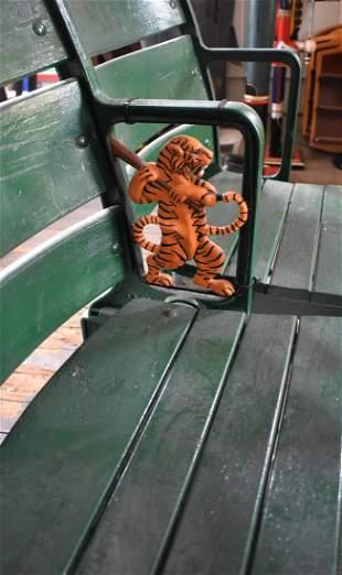Vintage Detroit Tigers Briggs Stadium Figural Seats 2