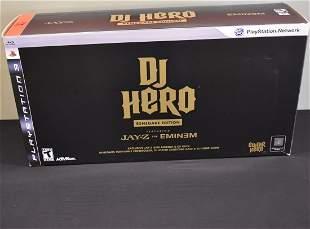 DJ Hero Renegade Edition PlayStation 3 PS3 Jay-Z Eminem