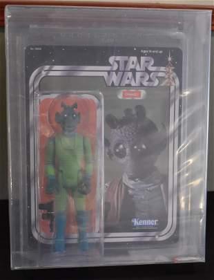 Gentle Giant Star Wars Vintage Jumbo Greedo AFA 8.5
