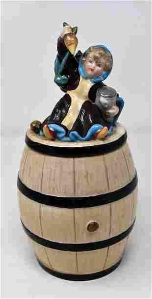 1/2 L Schierholz Munich Child Barrel Lithopane Stein