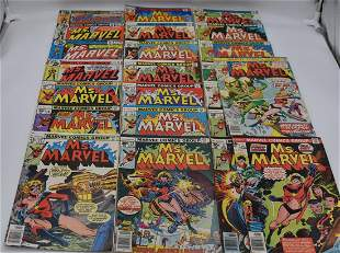 Ms. Marvel #1 - #23 Complete Series 1St Mystique