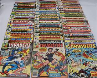 The Invaders #1 - #41 & King Size #1 Marvel Complete