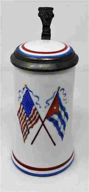 1/2 Liter Cuban American Beer Stein