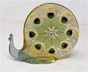 Abraham Palatnik Mid-Century Lucite Snail