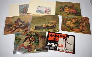 Lot of Vintage Advertising Cards