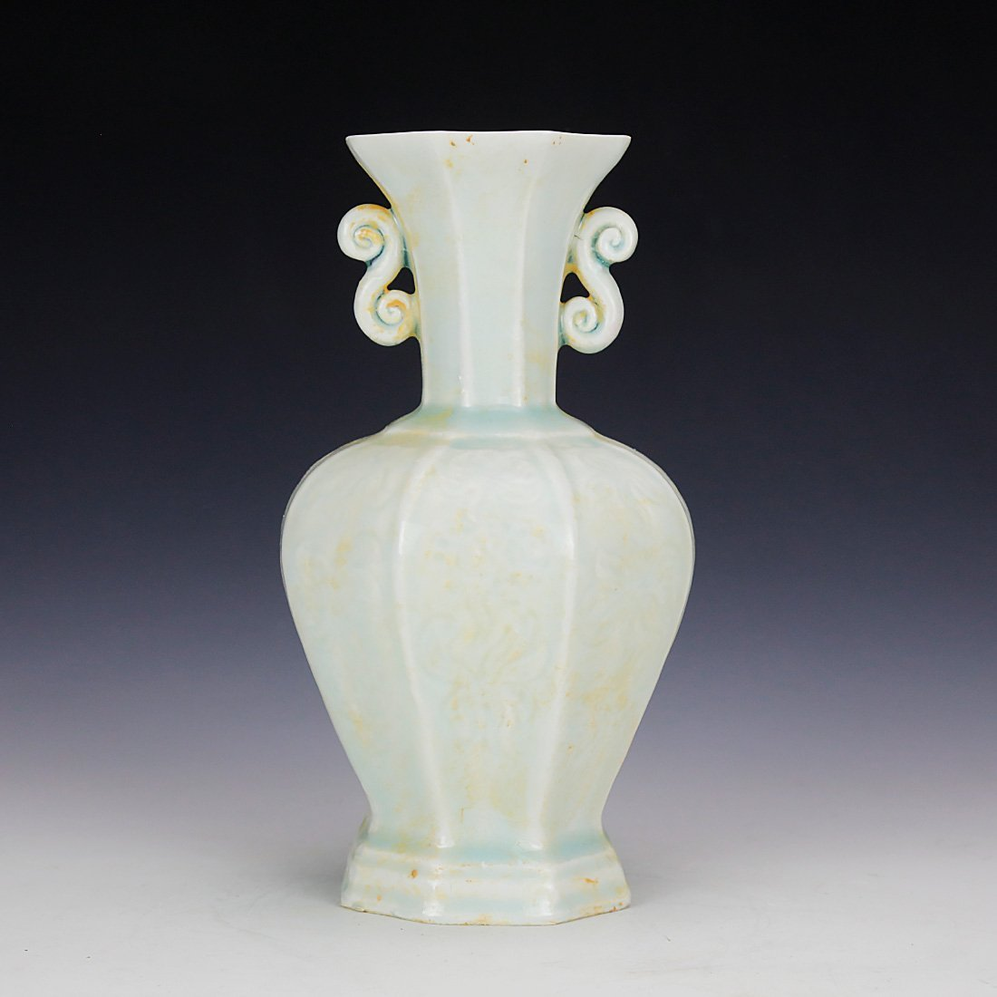 Celadon vase in the Song Dynasty 13 Century