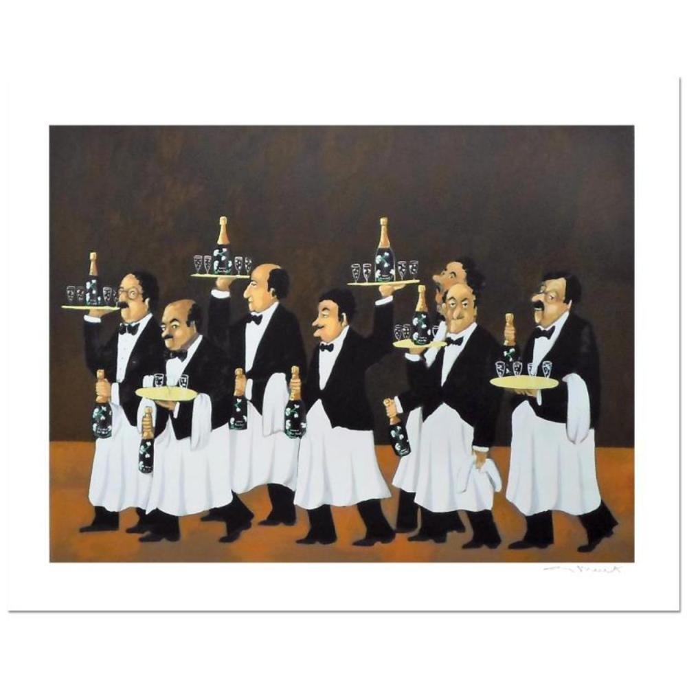Guy Buffet - Flower Bottle Brigade