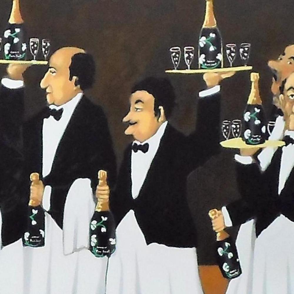 Guy Buffet - Flower Bottle Brigade - 2