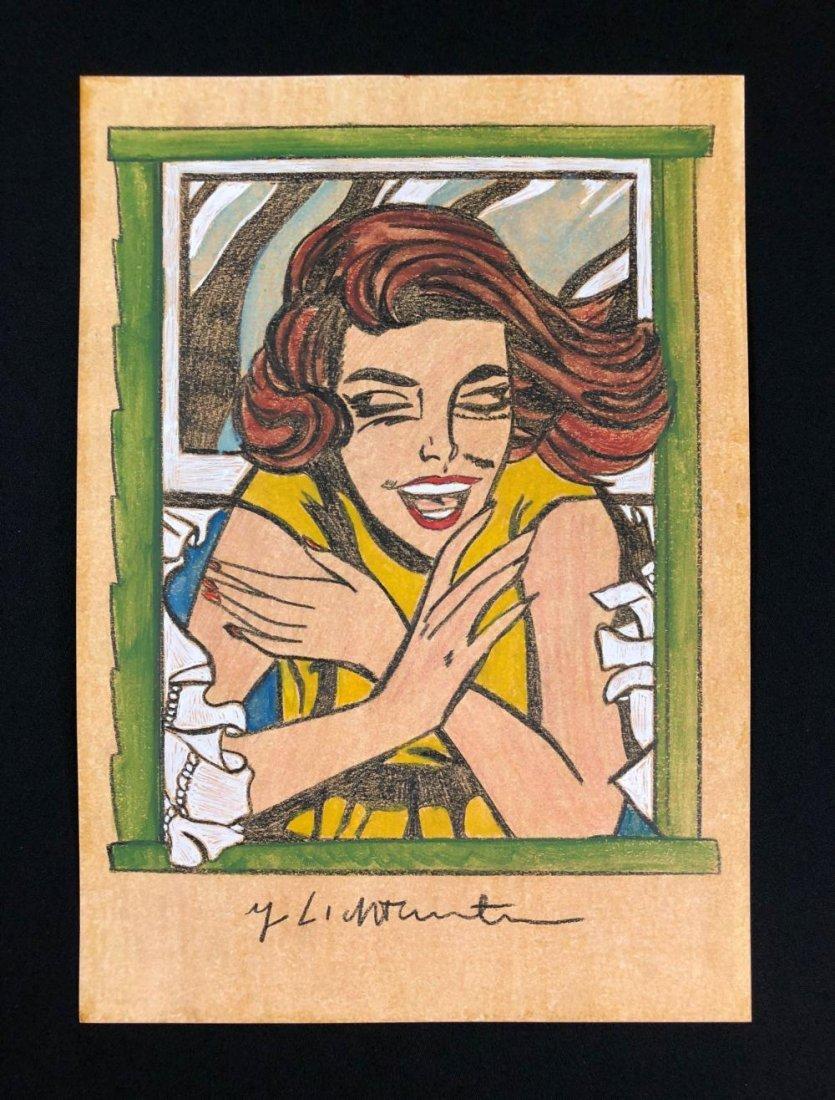Roy Lichtenstein - Girl in Window