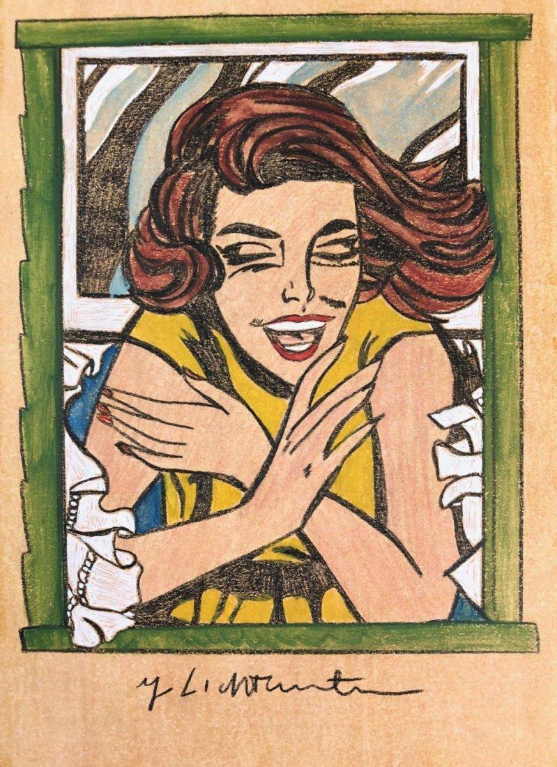 Roy Lichtenstein - Girl in Window - 2