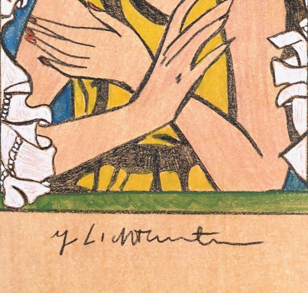 Roy Lichtenstein - Girl in Window - 3