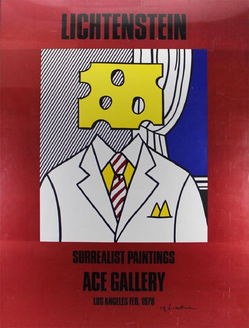 Roy Lichtenstein - Surrealistic Paintings (Cheesehead) - 2