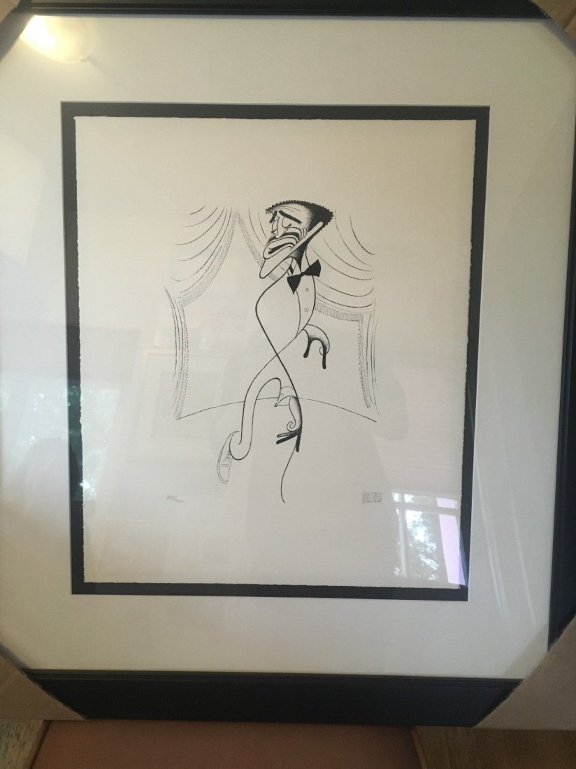 Al Hirschfeld - Sammy on Stage, Sammy Davis Jr. - 2