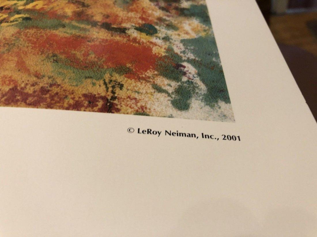 Leroy Neiman - Portrait of a Leopard - 3